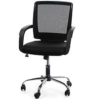 Офисное кресло VISANO, Black/Chrome 27786, фото 1