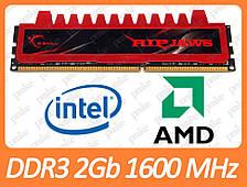 DDR3 2GB 1600 MHz (PC3-12800) CL9 G. Skill F3-12800CL9D-4GBRL