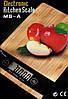 Кухонные электронные деревянные весы Domotec MS-A до 5 кг, фото 4