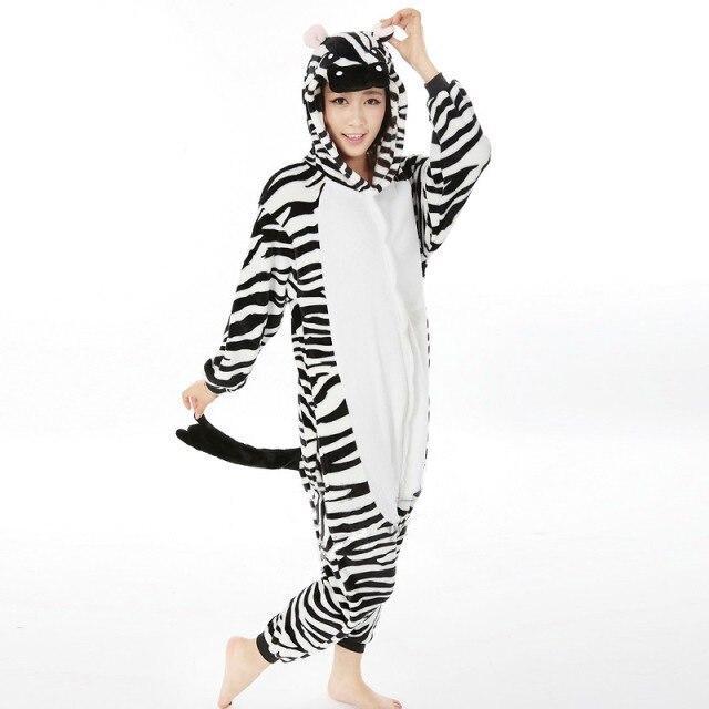 Кигуруми зебра (взрослая) krd0100