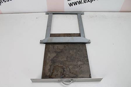 Задвижка стальная 280х270мм (шибер; засувка), фото 2