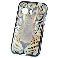 Чохол з малюнком Printed Silicone для Samsung G130 Star Galaxy Duos 2 Леопард
