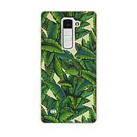 Чехол с рисунком Printed Silicone для LG K7 X210 Пальмы