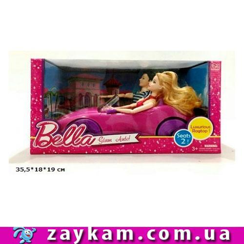 Кабриолет для куклы DS-008 с куклами 28см кор.36-18-9 см