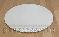 Подложка круглая под торт 35 см белая