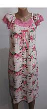 Нічна сорочка жіноча,бамбук арт 1370 ,розміри п/ботал XL,2XXL Saimeiqi