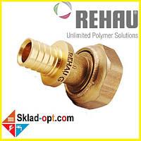 Переходник Rehau RX Ø16 x 1/2 с накидной гайкой. 366075-001