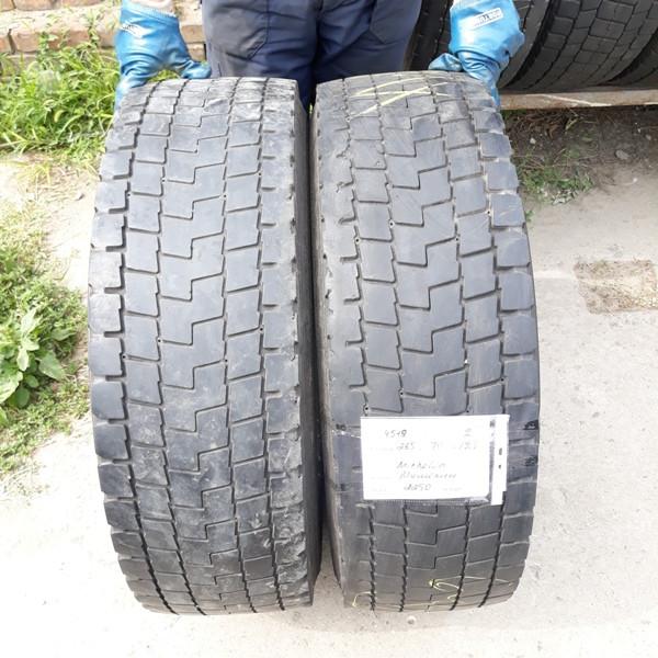 Грузовые шины б.у. / резина бу 285.70.r19.5 Michelin XDE2+ Мишлен