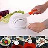 Салатница-овощерезка 2 в 1 Salad Cutter Bowl Top Trends, фото 2