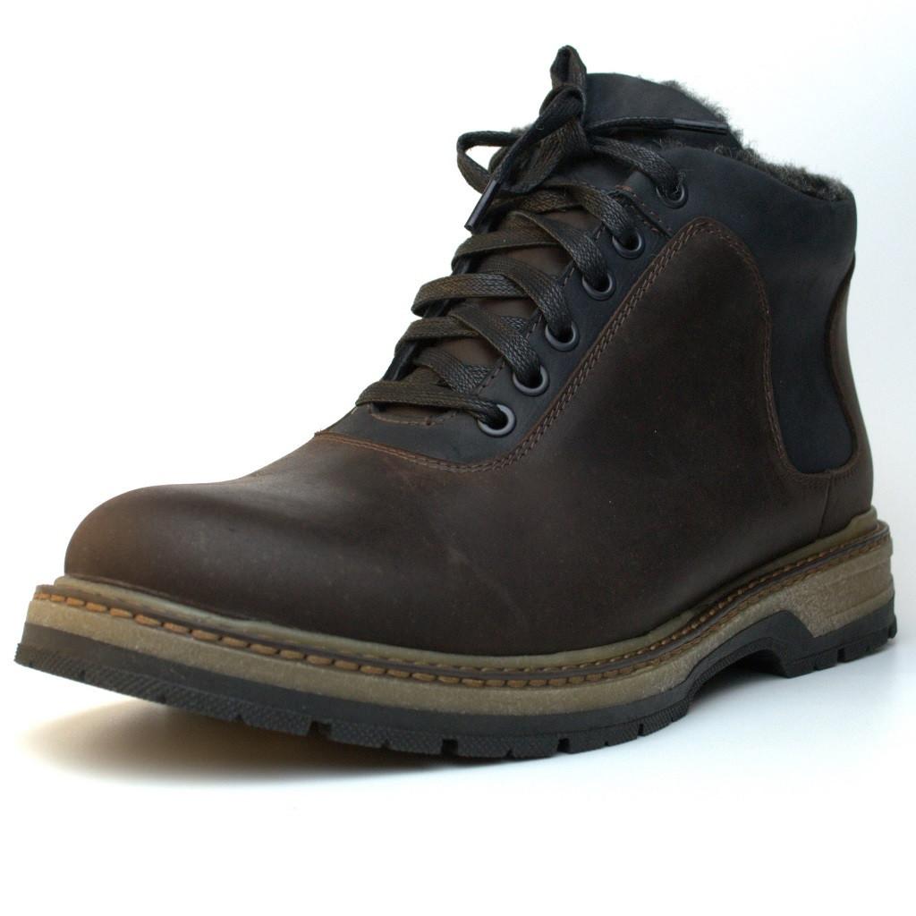 Ботинки больших размеров зимние коричневые мужские кожаные Rosso Avangard Ragnarr Brown BS