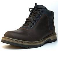 Черевики зимові коричневі шкіряні взуття великих розмірів чоловіча Rosso Avangard Ragnarr Brown BS