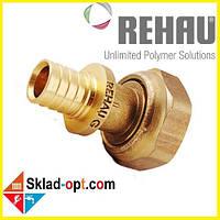 Переходник Rehau RX Ø16 x 3/4 с накидной гайкой. 366076-001