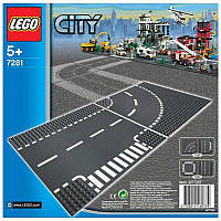 Конструктор LEGO City Пластина Поворот (7281)