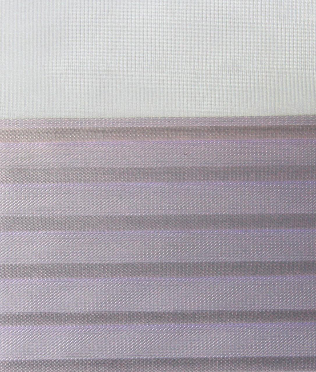 Рулонні штори День-Ніч Тканина Містичний Z-271 Бузок