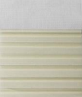 Рулонные шторы День-Ночь Ткань Мистери Z-272 Кремовый
