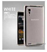 TPU чехол для Lenovo P780 белый