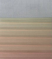 Рулонні штори День-Ніч Тканина Містичний Z-570 Бежево-рожевий