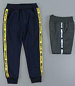 Спортивные брюки с начесом для мальчиков Grace оптом , 98-128 pp.