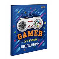 Щоденник шкільний жорсткий (укр.) Gamer 911165