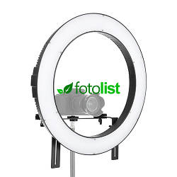 Кольцевой диодный свет Falcon DVR-160TVC LED 32W, 3200-5600К, Ø365мм