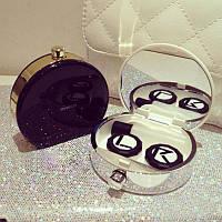 Контейнер для контактных линз с зеркалом, фото 1