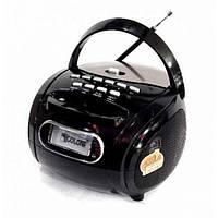 Портативная колонка бумбокс MP3 USB радио Golon RX 186 приёмник Чёрный