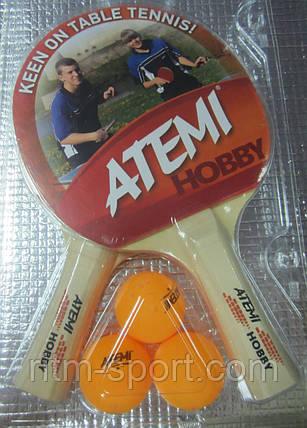 Набор ракеток для настольного тенниса  ATEMI HOBBY, фото 2