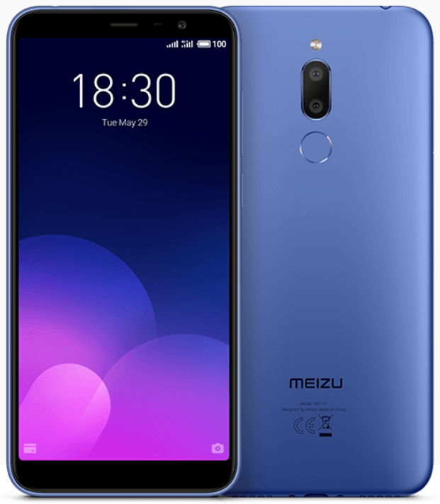"Meizu M6t Blue 2/16 Gb, 5.7"", MT6750, 3G, 4G (Global)"