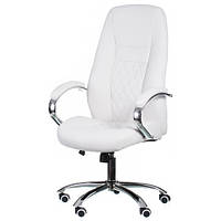 Кресло для руководителя Alize white E0406
