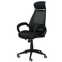 Кресло руководителя Briz black E0444