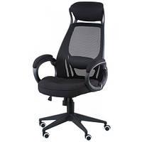 Кресло для руководителя black fabric E5005