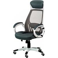 Кресло руководителя Briz grey/white E0888, фото 1