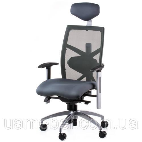 Кресла для руководителя EXACT SLATEGREY FABRIC, SLATEGREY MESH E0598