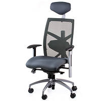 Кресла для руководителя EXACT SLATEGREY FABRIC, SLATEGREY MESH E0598, фото 1