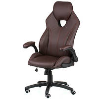 Кресло руководителя Leader brown E4985