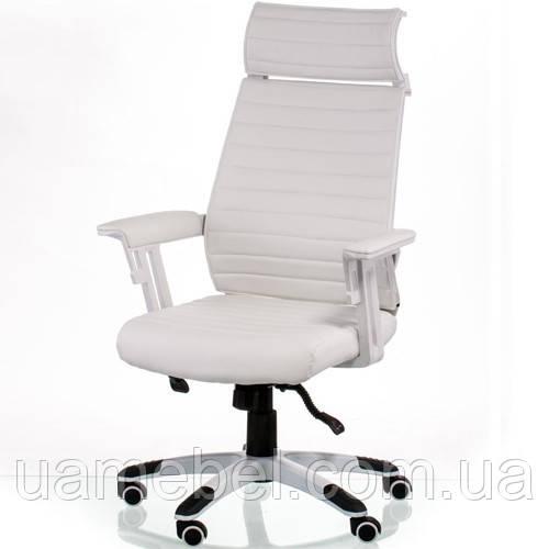 Кресло руководителя Monika white E5418