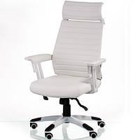 Кресло руководителя Monika white E5418, фото 1