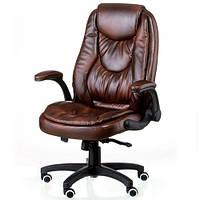 Кресло руководителя офисное Oskar brown E5258, фото 1