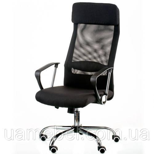 Кресло руководителя Silba black E5821