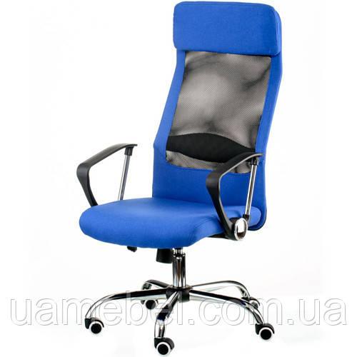 Кресло для руководителя Silba blue E5838