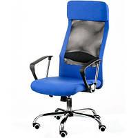 Кресло для руководителя Silba blue E5838, фото 1