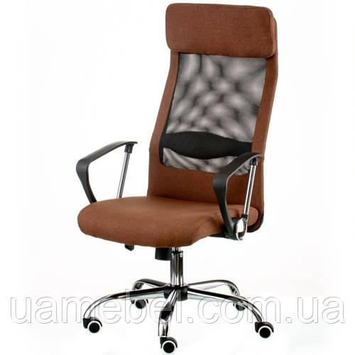 Кресло руководителя Silba brown E5814