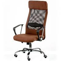 Кресло руководителя Silba brown E5814, фото 1