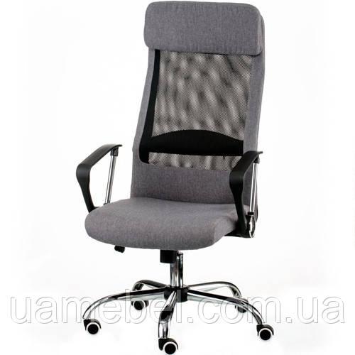 Кресло для руководителя Silba grey E5807