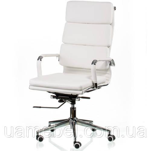 Кресло руководителя Solano 2 artleather white E5296