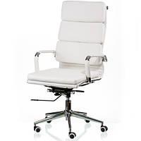 Кресло руководителя Solano 2 artleather white E5296, фото 1