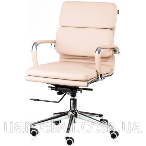 Крісло для керівника Solano 3 artleather beige E4817
