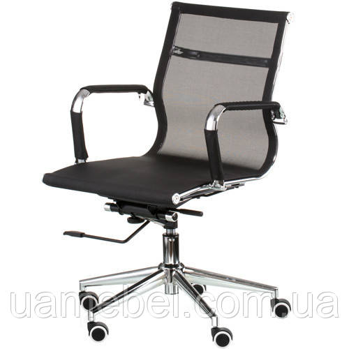 Крісло керівника Solano 3 mesh black E4848