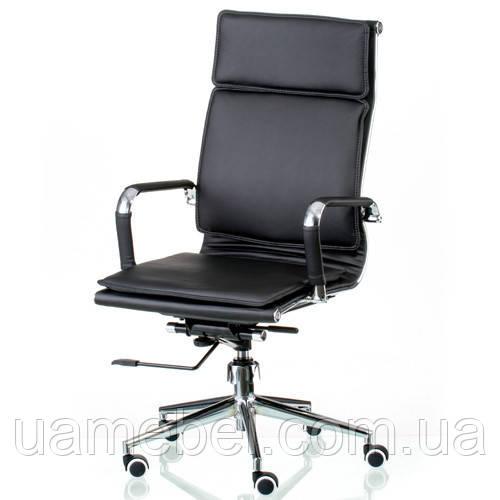Кресло для руководителя Solano 4 artleather black E5210