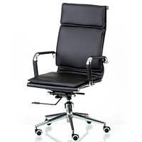Кресло для руководителя Solano 4 artleather black E5210, фото 1